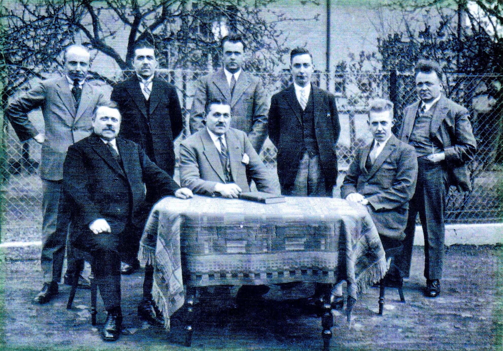 De Klundertse winkeliers vereniging in 1936